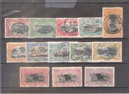 Congo Belge - 15/16 + 18/26A - Obl/gest/used (à Voir) - Congo Belge