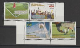 Guinée Equatoriale 2009 Football Coupe Afrique 2008 536-39 4 Val ** MNH - Guinea Ecuatorial