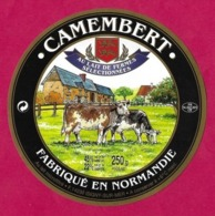 Etiquettes De Fromage.  Camembert D'Isigny.    Neuve. - Formaggio