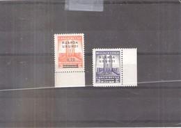 Ruanda-Urundi - 124/25 - Bord De Feuille - XX/MNH (à Voir) - 1924-44: Ungebraucht