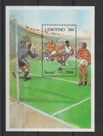 Lesotho 1988 Football Séoul 88 BF 60 ** MNH - Lesotho (1966-...)