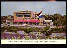 Hoek Van Holland Hotel-restaurant Poort Van Europa (vóór 1981 Gesloopt) (108-14) - Hoek Van Holland