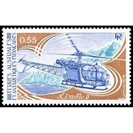 Timbre N° 92 Neuf ** - Aviation. Alouette II. - Terre Australi E Antartiche Francesi (TAAF)