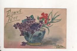 Toile Aquarelle De Bourgeois Aine - Bourgeois