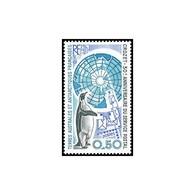 Timbre N° 155 Neuf ** - 30ème Anniversaire Du Service Postal à Crozet. Carte, Manchot Et Lettres. - Terre Australi E Antartiche Francesi (TAAF)