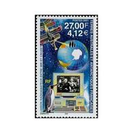 Timbre N° 295 Neuf ** - Liaison Radioamateur Entre La Station Mir Et Crozet. - Terre Australi E Antartiche Francesi (TAAF)