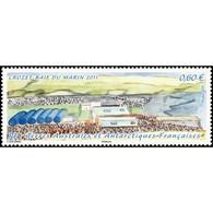 Timbre N° 600 Neuf ** - Archipel Des îles Crozet. Baie Des Marins En 2011 - Terres Australes Et Antarctiques Françaises (TAAF)