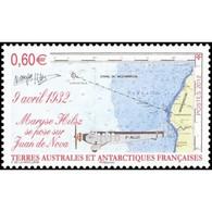 Timbre N° 639 Neuf ** - Maryse Hilsz, Militaire Et Pionnière De L'aviation Française. - Terres Australes Et Antarctiques Françaises (TAAF)
