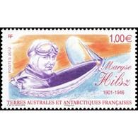 Timbre N° 640 Neuf ** - Maryse Hilsz (1903-1946). Portrait Dans Le Cockpit. - Terres Australes Et Antarctiques Françaises (TAAF)