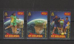 Sainte Hélène 2010 Football Afrique Du Sud 2010 1044-46 3 Val ** MNH - St. Helena