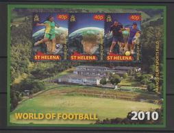Sainte Hélène 2010 Football Afrique Du Sud 2010 BF 51 ** MNH - St. Helena