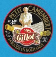 Etiquettes De Fromage.  Petit Camembert Gillot (61).   Neuve. - Cheese