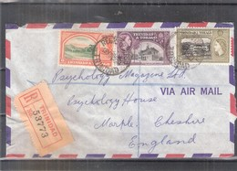 Registered Cover From Trinidad & Tobago To England - 1955 (to See) - Trinité & Tobago (1962-...)