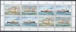 +Iceland 1991. Postships. Sheetlet. Michel 753-56. Oblitérés / Cancelled - Blocs-feuillets