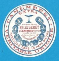 Etiquettes De Fromage.  Petit Camembert Félix Serey.  Georges Lainé (61).   Neuve. - Cheese