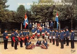 SAINT-MALO - Groupe Folklorique Quic-en-Groigne - Fanfare - Le Bagad - La Hérouélée - Le Cercle - Vielles, Binious... - Saint Malo