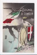 """CP PATRIOTIQUE ITALIENNE """"Sogno D'Italia"""" - Heimat"""