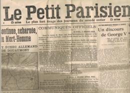2 JOURNAUX. LE PETIT JOURNAL - LE PETIT PARISIEN. - Journaux - Quotidiens