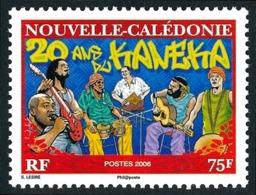 NOUV.-CALEDONIE 2006 - Yv. 990 **   Faciale= 0,63 EUR - Musique. 20 Ans Du Genre Kaneka  ..Réf.NCE25602 - Nueva Caledonia