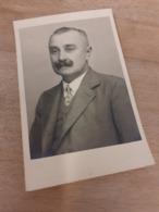 MANN IN OESTERREICH DAZUMAL - AELTERER HERR MIT ZWIRBELSCHNAUZ - 20/30er - Anonyme Personen