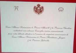 Birthday Of  Prince Jacques And Princess Gabriella Of Monaco - Historische Dokumente