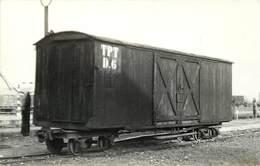 PITHIVIERS -  Wagon D.6 TPT,carte Photo Laurent En 1956. - Trains