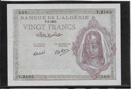 Algérie - 20 Francs - Pick N°92b - SPL - Algérie