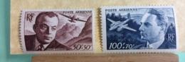 Poste Aérienne France 1946-47( Neuf (Y&T N°21-22 (St Exupéry-J.Dagnaux) - Coté 9€ (Tous De Bonne Qualité Garantie) - Posta Aerea