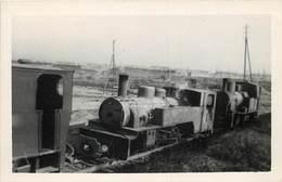 WAS Voie 0.90 COEHBA (société Minière ,Béziers) Marchine 020T 117, Carte Photo. - Trains
