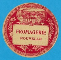 Etiquettes De Fromage.   Fromagerie Nouvelle. - Cheese