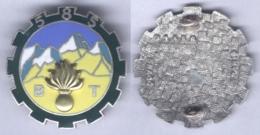 Insigne Du 585e Bataillon Du Train - Armée De Terre