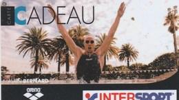 CARTE CADEAU...INTERSPORT..  ALAIN BERNARD - France