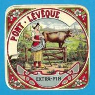 Etiquettes De Fromage.   Pont-L'Evèque. - Cheese