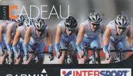 CARTE CADEAU...INTERSPORT..  COURSE CYCLISTE - France