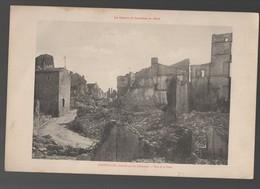 Gerbéviller (54) CARTE MONUMENTALE: Rue De La Poste  (CAT 1584) - Gerbeviller