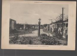 Gerbéviller (54) CARTE MONUMENTALE: La Rue Gambetta En Ruines  (CAT 1585) - Gerbeviller