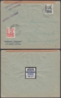 """Espagne - Lettre Censurée """" Griffe Las Palmas"""" De Puerto De La Luz 04/02/1938 Vers Hamburg (RD206) DC5719 - 1931-Aujourd'hui: II. République - ....Juan Carlos I"""