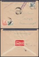 """Espagne - Lettre Censurée """" Griffe Las Palmas"""" De Puerto De La Luz 07/05/1938 Vers Hamburg (RD207) DC5720 - 1931-Aujourd'hui: II. République - ....Juan Carlos I"""