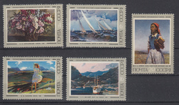 USSR - Michel - 1974 - Nr 4266/70 - MNH** - Neufs