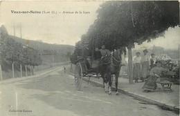 VAUX Sur SEINE-avenue De La Gare - France