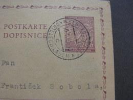 BM Karte Kostelec Brno 1943 - Bohême & Moravie