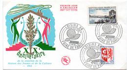 France N° 1468 Et 1481 Y. Et T. Paris Cachet Commémoratif Foire De Paris Du 30/05/1966 - Postmark Collection (Covers)