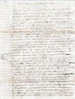 1832 LONS-le-SAUNIER - Beauté De La Ville De LYON Nombreux Détails - Prix Du Voyage - Documenti Storici
