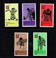 New Zealand 1974 Commonwealth Games Set Of 5 MNH - Nouvelle-Zélande