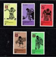 New Zealand 1974 Commonwealth Games Set Of 5 MNH - - Ongebruikt