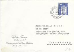 363, Monument Historique, Porte St-Paul, Bâle, Obl. Direction Générale PTT 24.VII.63 - Switzerland