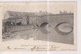 CPA-80-Somme- PERONNE- Porte De Paris Et Grands Moulins- - Peronne