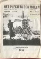 (72) Partituur - Partition - Het Plekje Bij Den Molen - Jan Van Laar - Willy Derby - Klavierinstrumenten