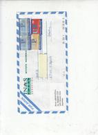 ARGENTINA  2002 - Yvert 2310C-D-F - Serie Corrente - Storia Postale
