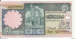 LIBYE 1/4 DINAR ND1991 UNC P 57 B - Libya